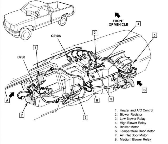 17  Chevy Truck Hvac Box Exploded Diagram Truck Diagram