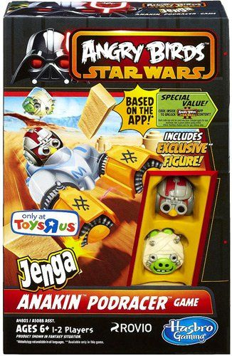 Angry Birds Star Wars Jenga Anakin Podracer Game Angry Birds Http