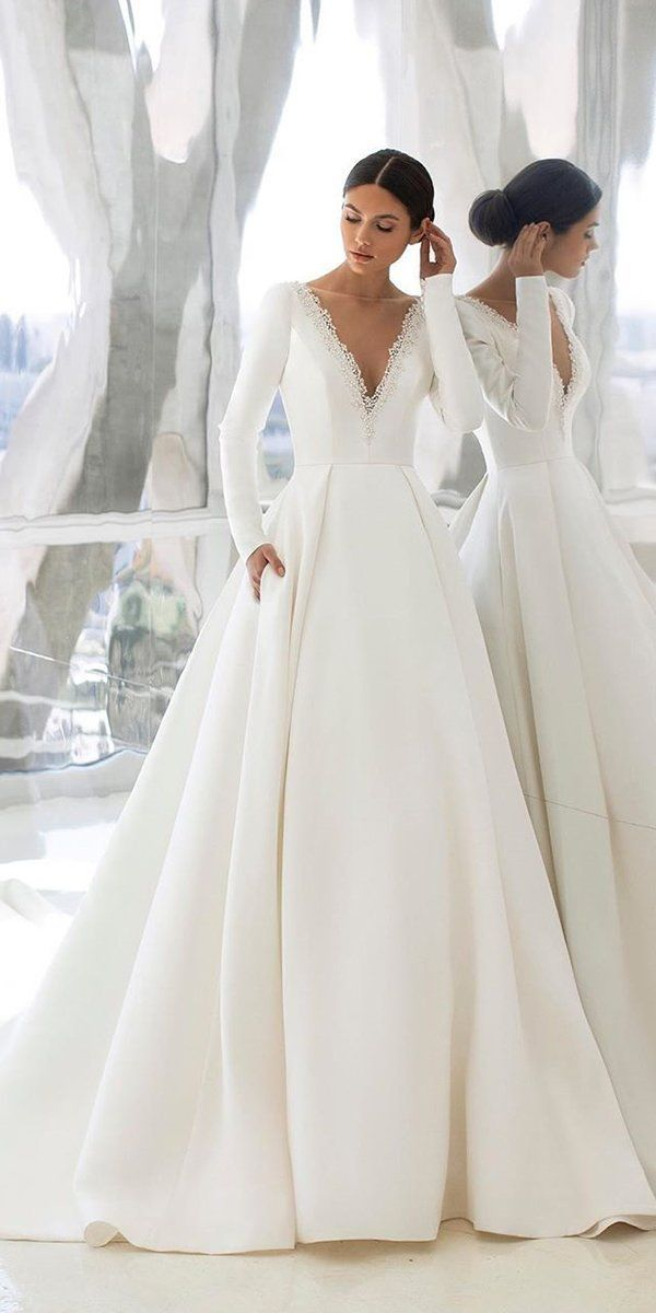 Photo of A-Line Wedding Dresses 2020/2021 Collections Overview | Wedding Forward