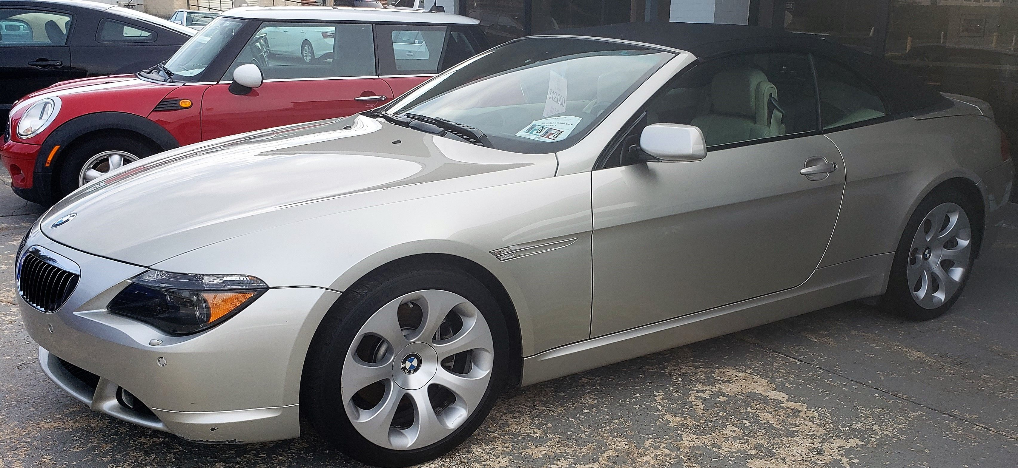 2006 Bmw 650i Convertible Our Price 12 500 Miles 79 540 For