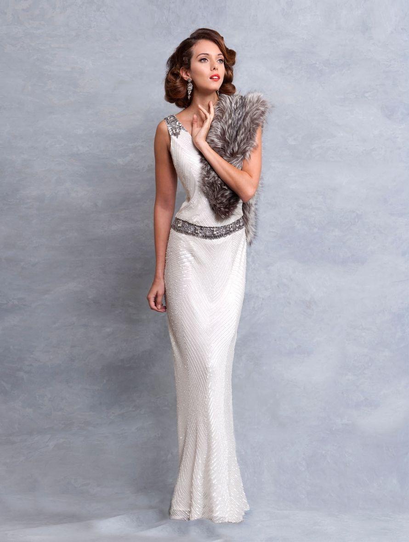 Art deco wedding dress eliza jane howell dress ideas pinterest