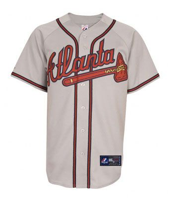 9813fe626 Atlanta Braves Road MLB Baseball Jersey  braves  mlb  baseball ...