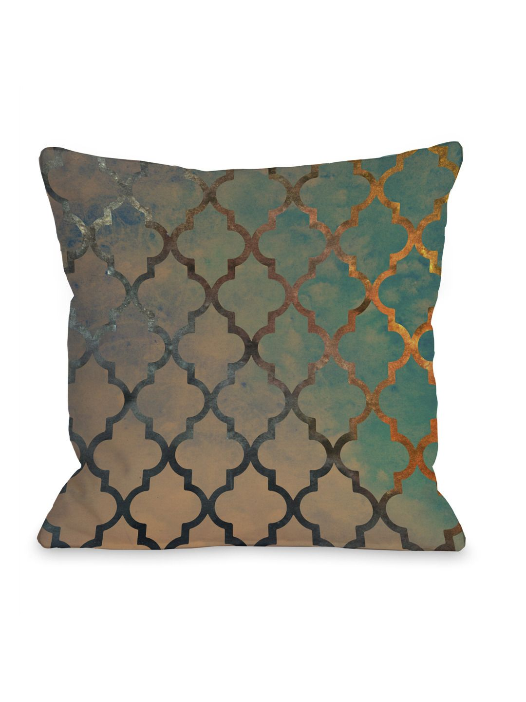 Beautiful Decorative Bed Pillows : Amour Arabesque Floor Pillow by OneBellaCasa at Gilt ~ Beautiful Things & Precious Baubles ...
