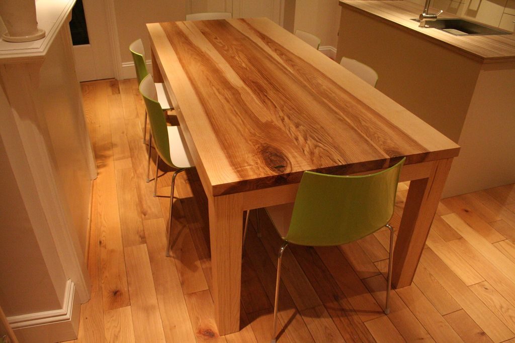 Bespoke Handmade Contemporary Ash Table - Quercus Furniture ...