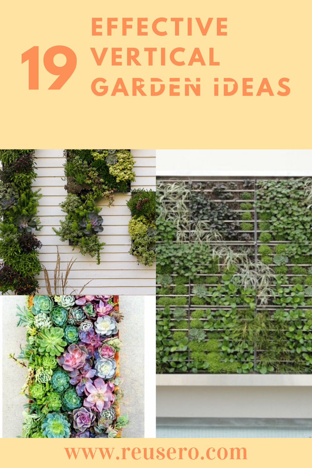 19 Awesome Vertical Gardening Ideas For Your Garden Reusero Vertical Garden Diy Garden Garden
