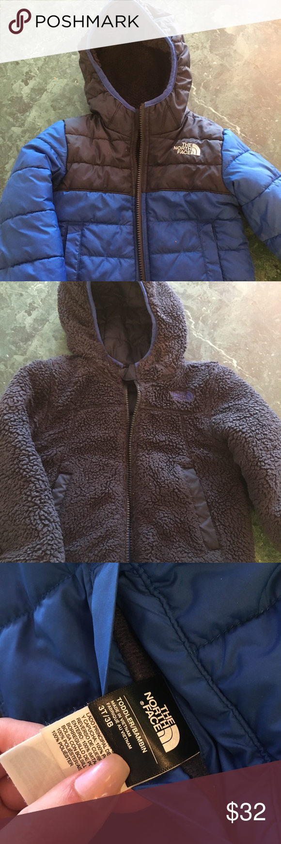 North Face Jacket Child S Size 3t North Face Reversible Jacket The North Face Jackets Coats North Face Jacket Clothes Design Jackets [ 1740 x 580 Pixel ]