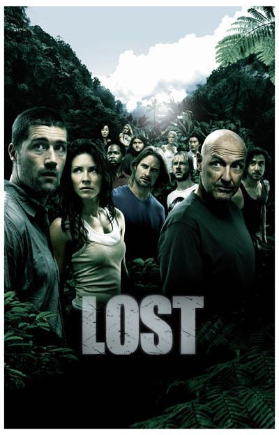 Lost Cast Oceanic Flight 815 On The Island TV Show Poster