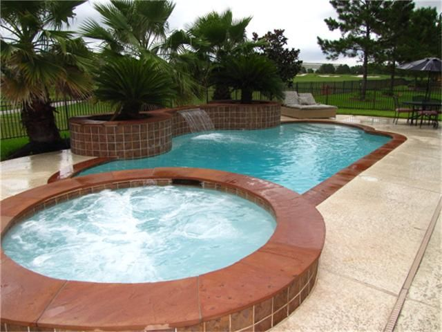 Spectacular Saltwater Pool, Spa and Lg Waterfall   Tons Of Beautiful Landscaping. The Spa is An 8 Ft Wide Oversized Interior So You Can Have Large Groups -- Relax & Take In The View