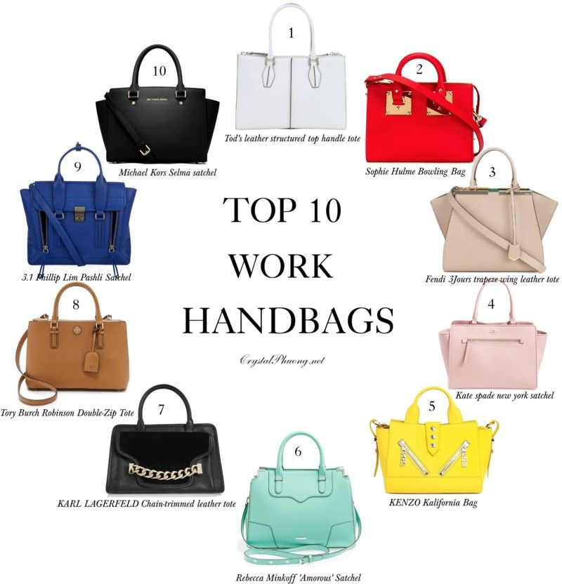 a30982cc29 Top 10 work handbags! CrystalPhuong- Singapore Fashion