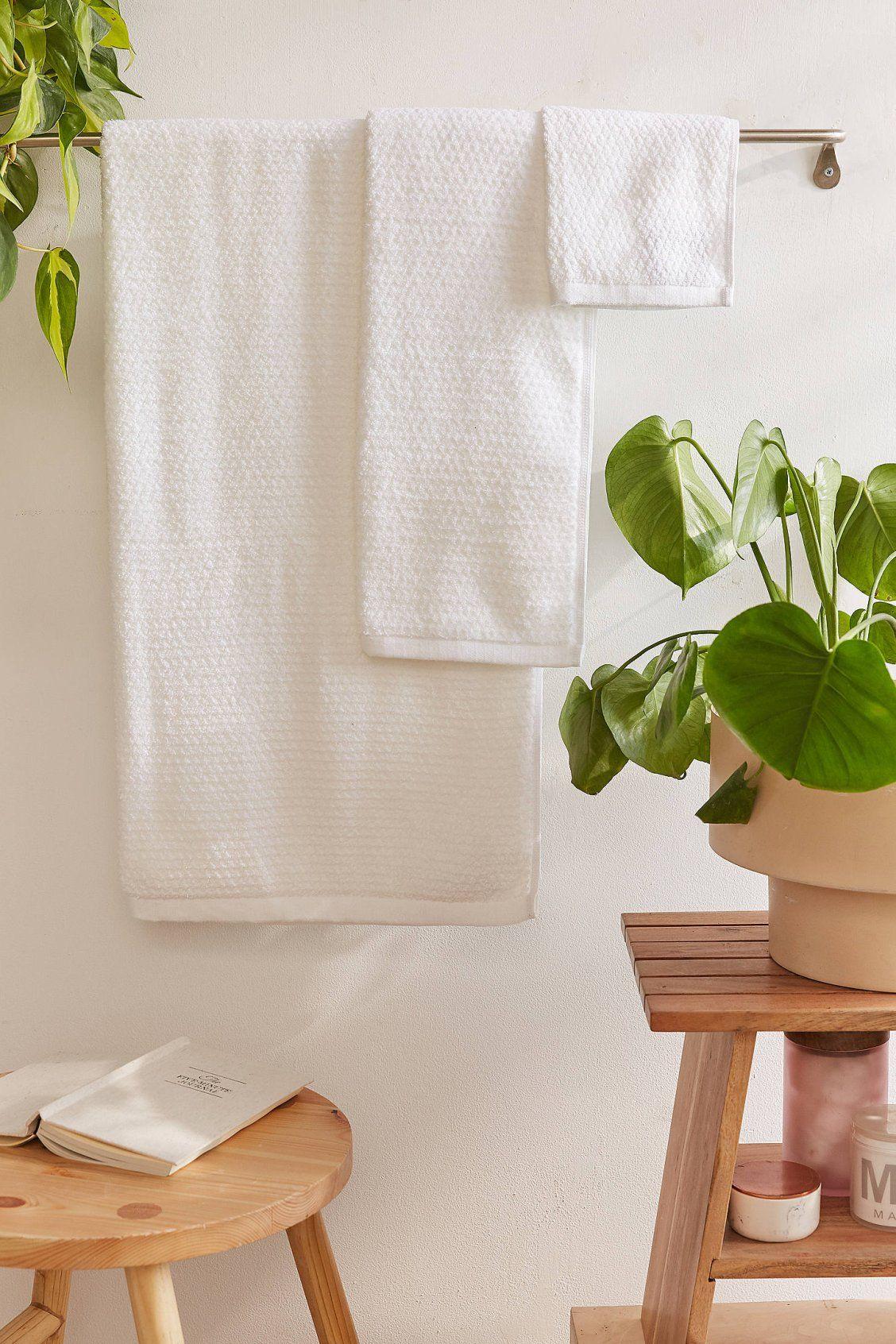 Tufted Diamond Tassel Bath Mat Towel Set Bath Towel Sets Bath Towels