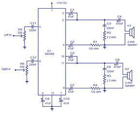 ba5406 stereo amplifier audio pinterest stereo amplifier rh pinterest com au