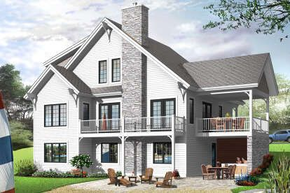Modern Farmhouse House Plan 699