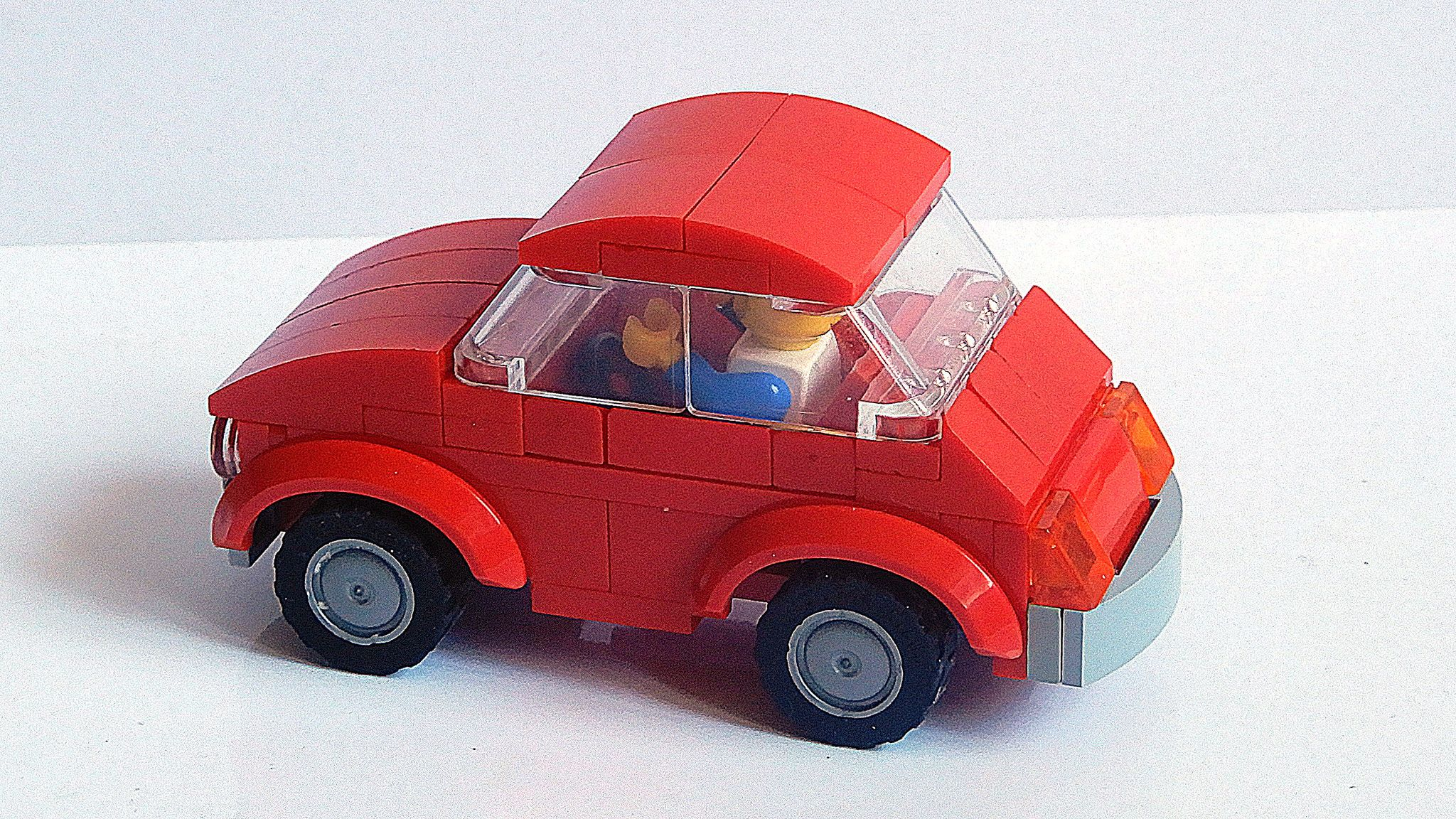 Lego Fiat 500 Cinquecento Moc 4k Lego Cars Lego Lego Sets