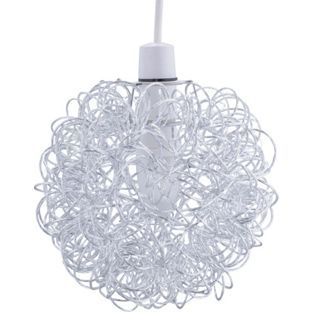 Great Buy HOME Scribble Aluminium Ball Shade   Chrome At Argos.co.uk, Visit. Ceiling  Light ...