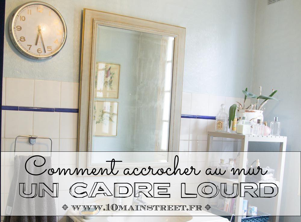 Comment Accrocher Un Tableau Lourd Avec De La Cimaise Accroche Tableau Creation Maison Deco Salon