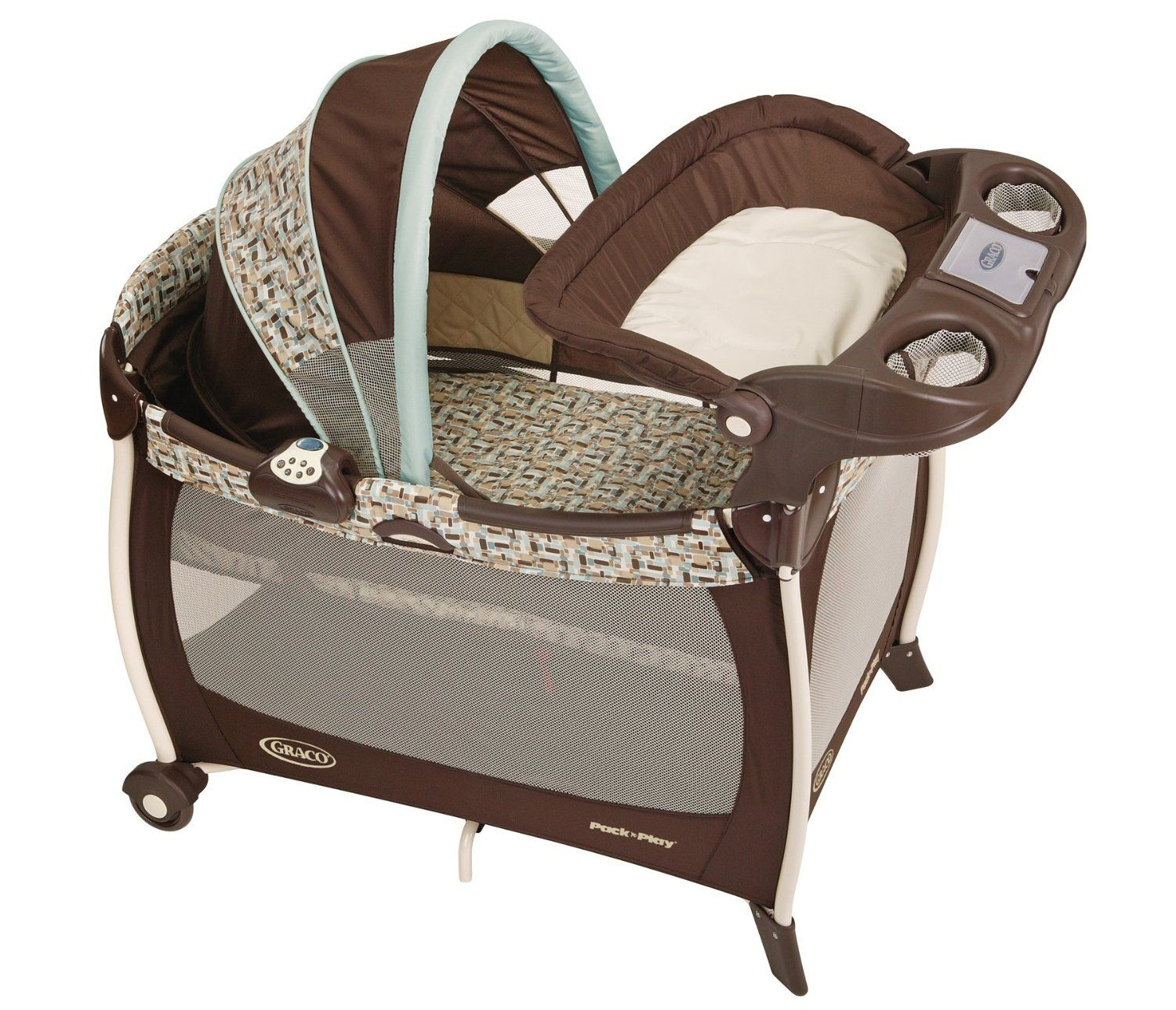 Graco Silhouette Pack 'N' Play with & Changer