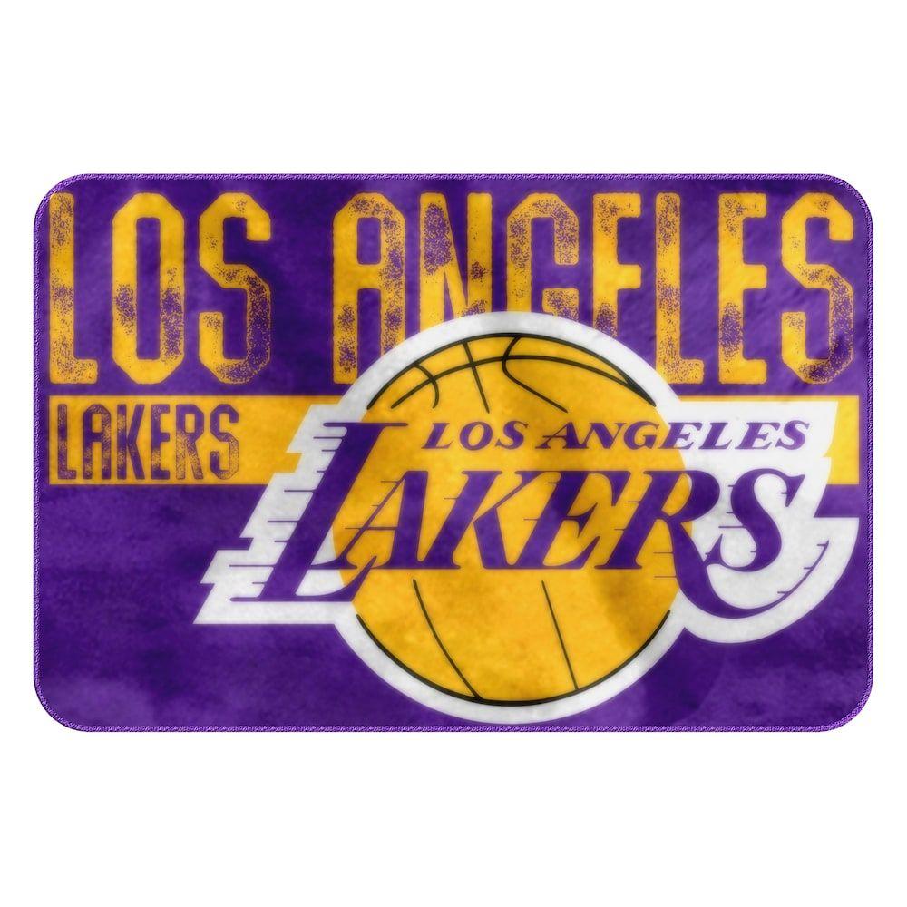 719eb058b Los Angeles Lakers Memory Foam Bath Mat