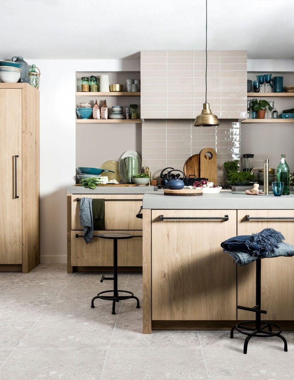 shop deze stijl: keuken in natuurtinten - Ideeen huis | Pinterest ...