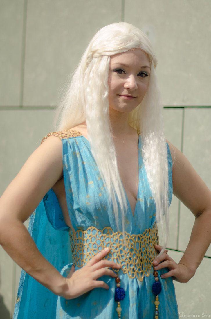 Daenerys targaryen cosplay by darkagesun on deviantart for Game of thrones daenerys costume diy
