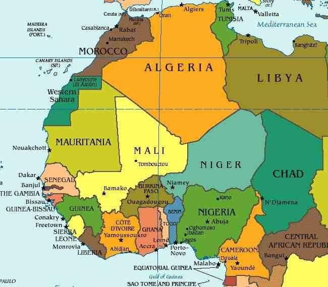 Geopolitical States of West Africa  Benin  Burkina Faso  Cape