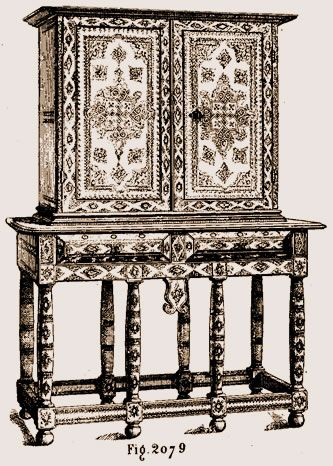 cabinet louis xiii au mus e de cluny abba heaven pinterest meuble de style malle et superbe. Black Bedroom Furniture Sets. Home Design Ideas