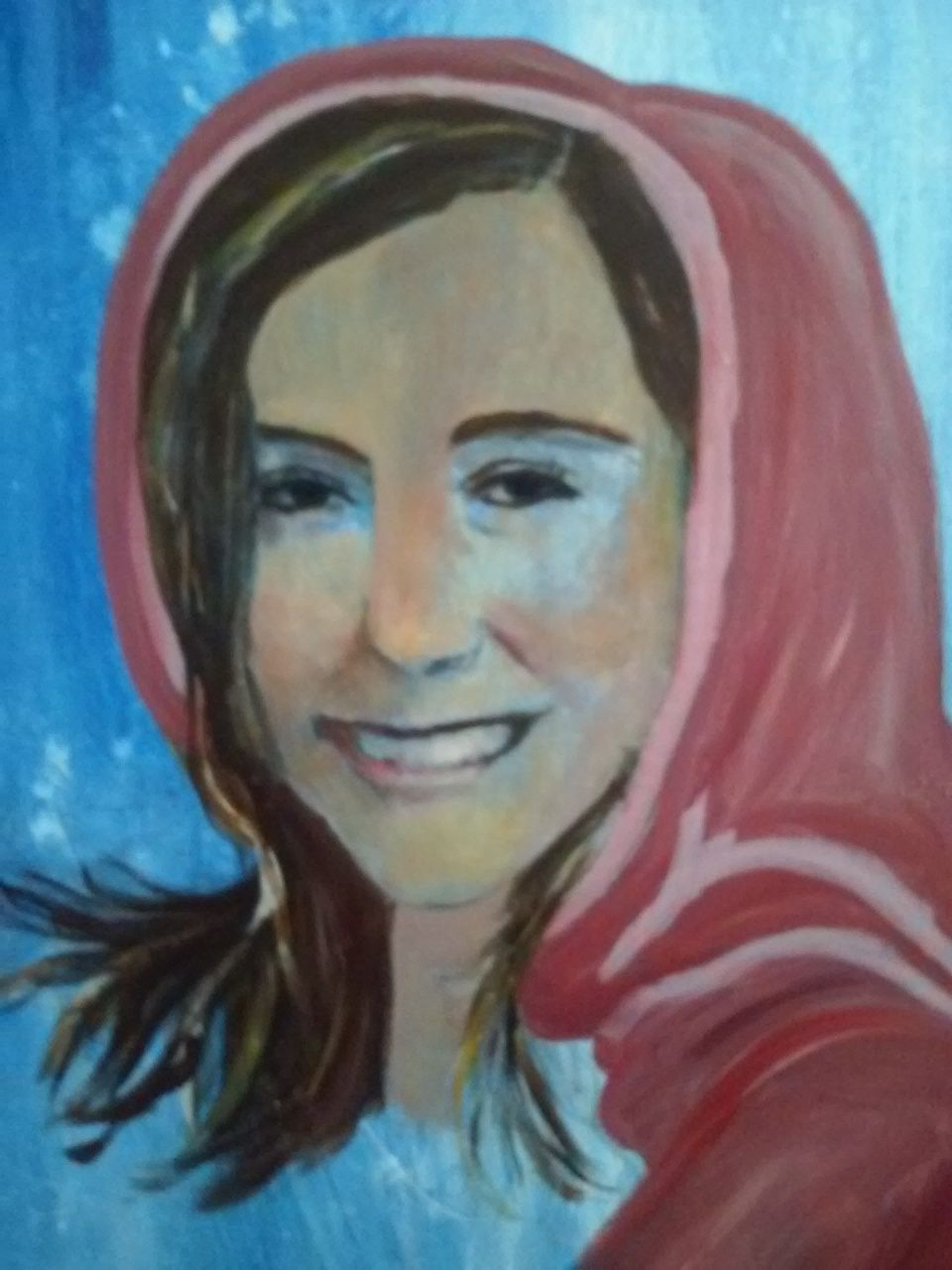 My second attempt at a portrait.. From Ron Marvin's Portrait Class. My beautiful granddaughter, Alexis Asp