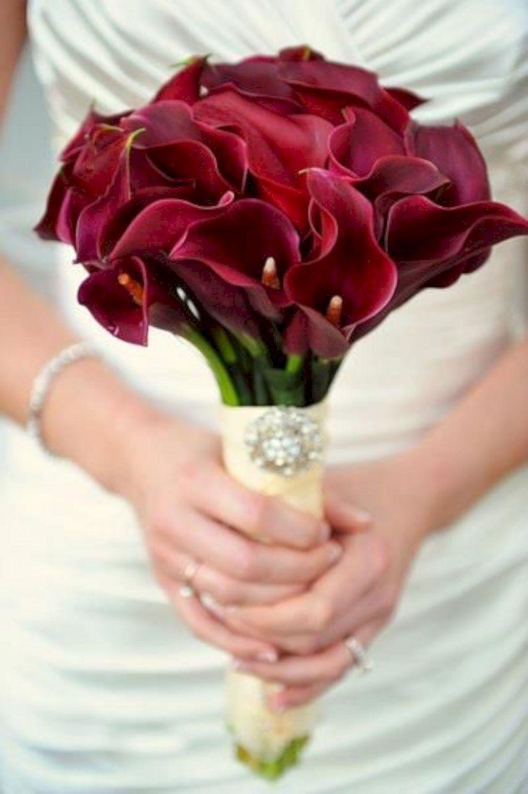 Burgundy Calla Lily Wedding Bouquet Ideas 15 Lily Bouquet Wedding Calla Lily Bouquet Wedding Calla Lily Wedding