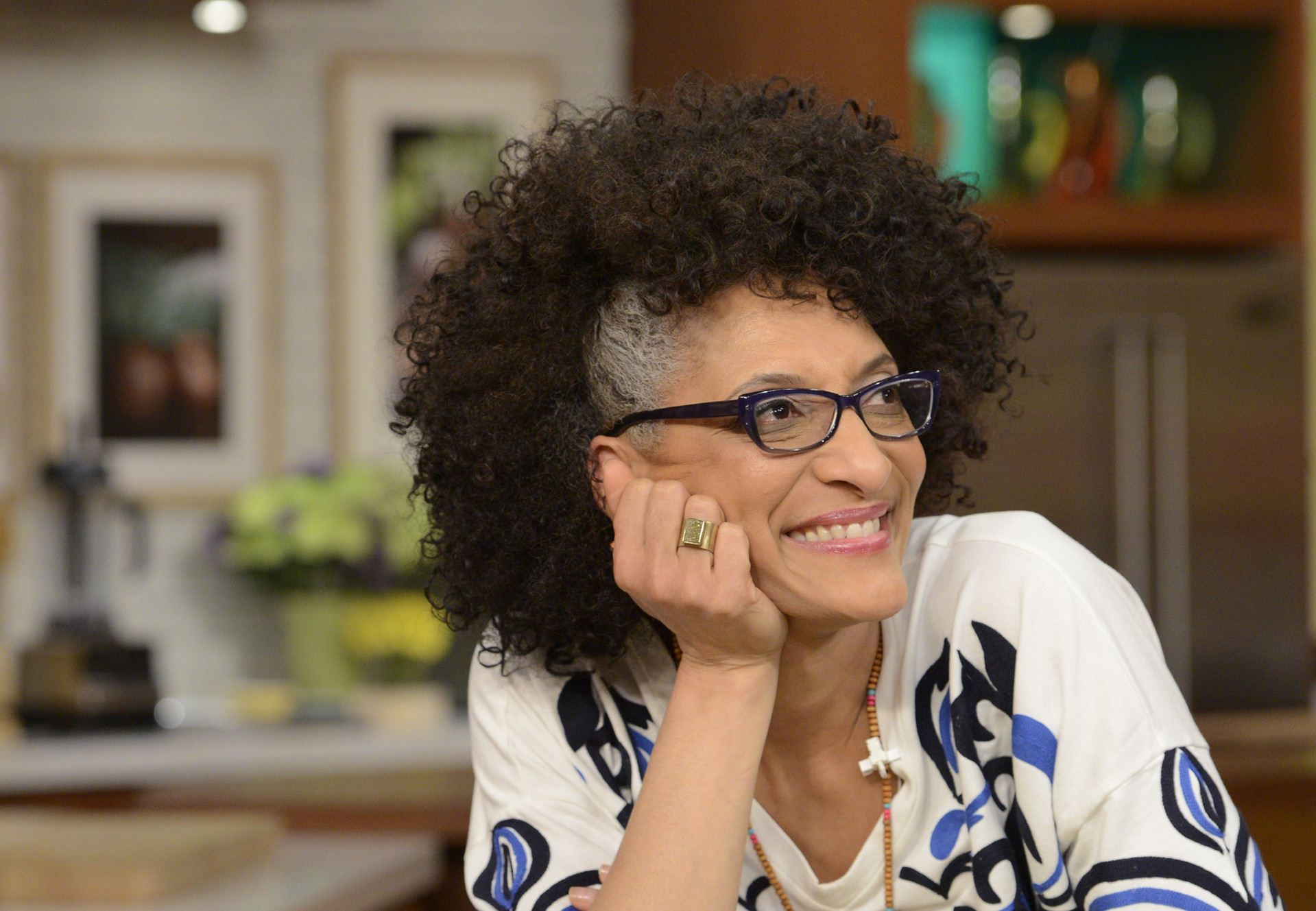 Carla Hall Says At 50 It Is Time To Embrace Her Gray Hair Do You