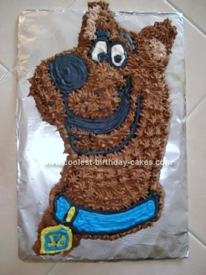 Coolest Homemade Scooby Doo Birthday Cake With Images Scooby
