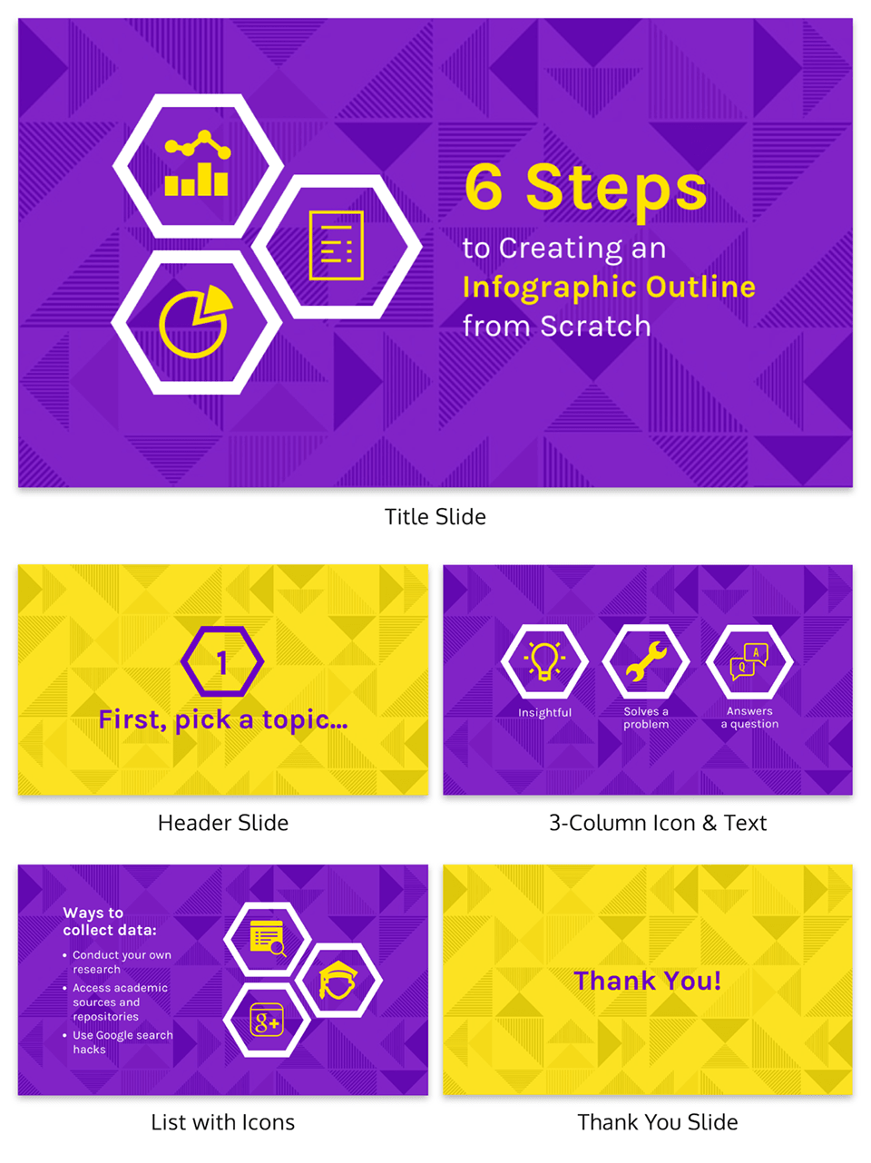 Create An Infographic Outline Creative Presentation Present A Process How To Create Infographics Business Presentation Templates Best Presentation Templates