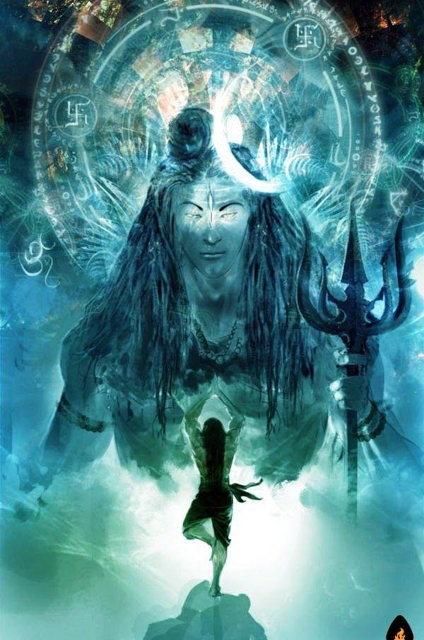 Ravana-Worshipping-Shiva.jpg (600×904) | Lord shiva hd ...