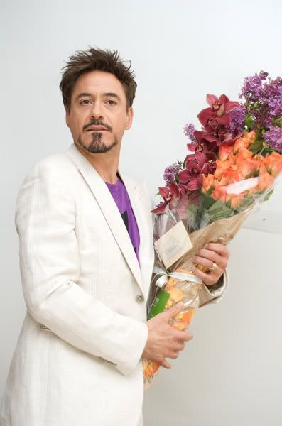 RDJ bearing flowers 2