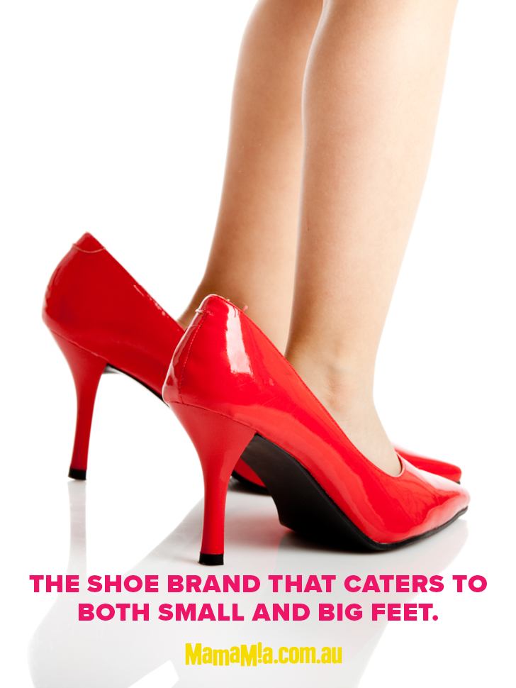 small feet women. | Red shoes