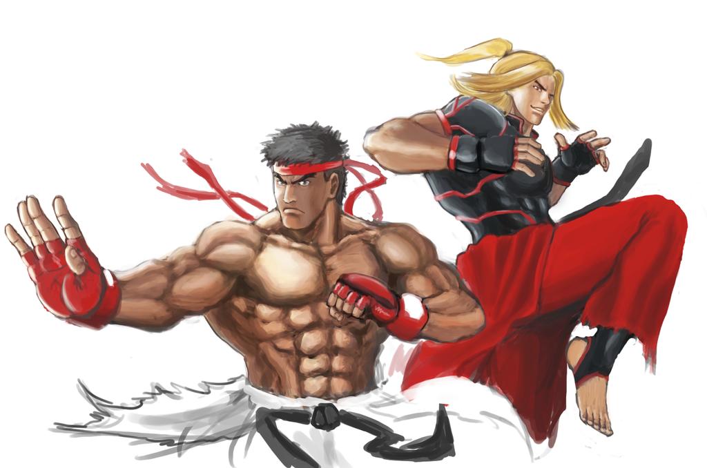 Ryu And Ken Street Fighter V Ken Street Fighter Ryu Street Fighter Street Fighter