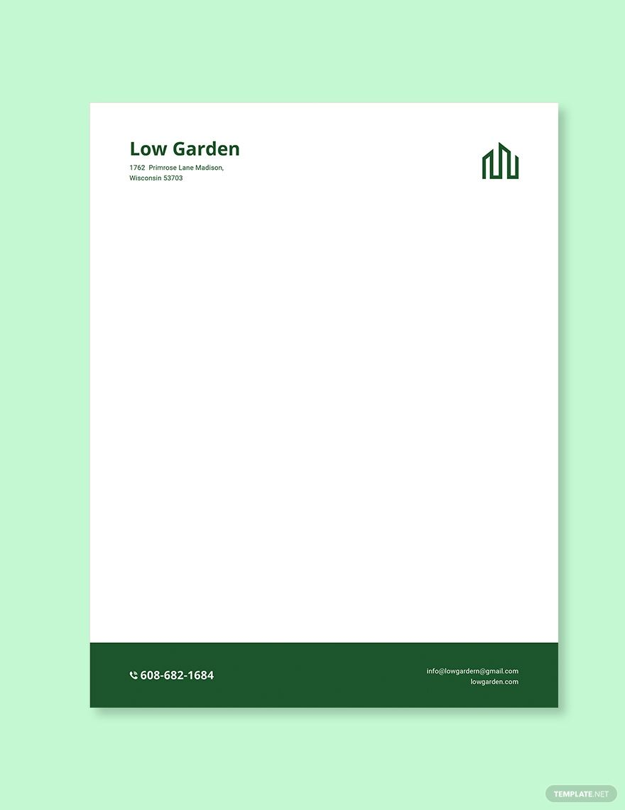 Real Estate Letterhead Template Free Jpg Illustrator Indesign Word Apple Pages Psd Publisher Template Net Letterhead Template Letterhead Format Letterhead Real estate letterhead templates free