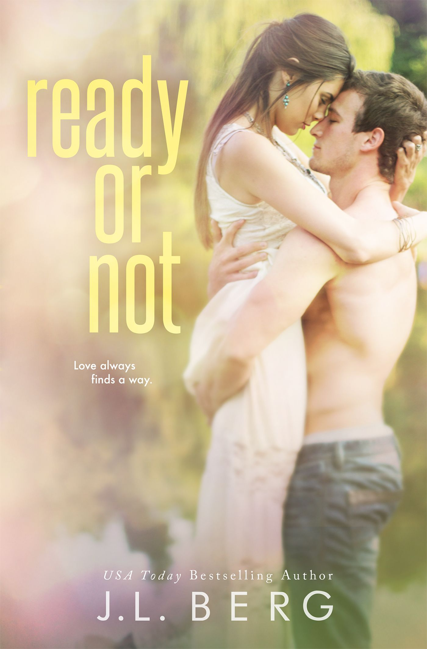 ✵✵✵COVER REVEAL: READY OR NOT BY J.L BERG✵✵✵