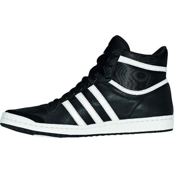 hot sale online 63874 92e62 adidas Originals TOP TEN HI SLEEK Hightop trainers schwarz and other  apparel, accessories and trends. Browse and shop 32 related looks.