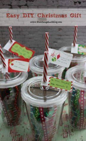 Easy Diy Christmas Gift Idea Teacher Gifts
