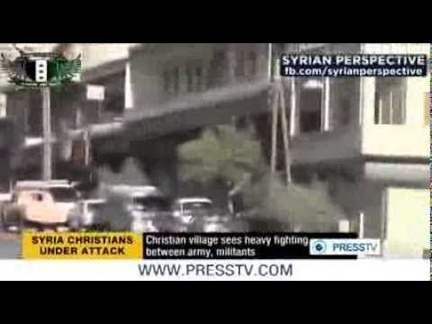 Syria Army Soldiers Battle Militants In Christian Village Maaloula