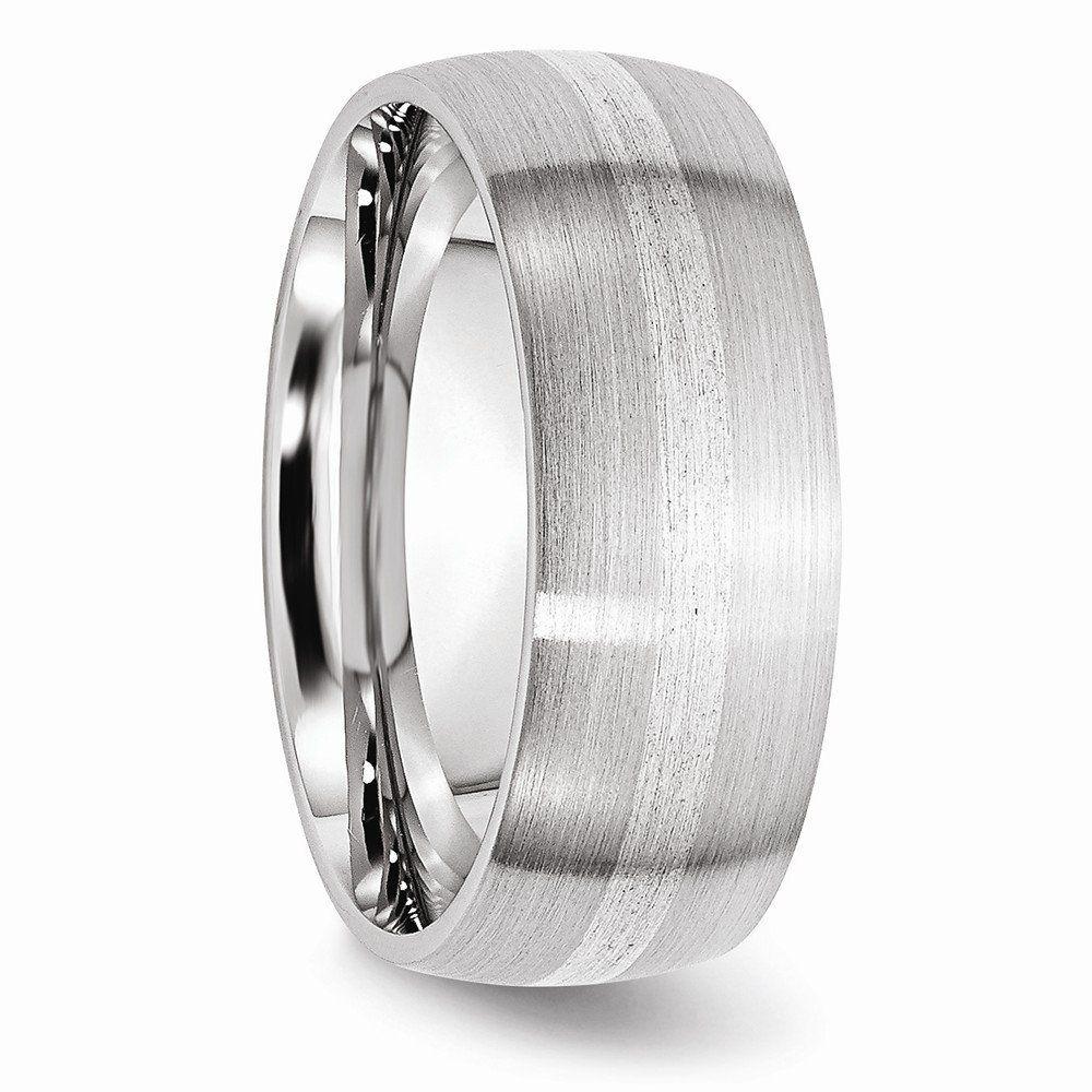 Cobalt Satin 8mm Band Size