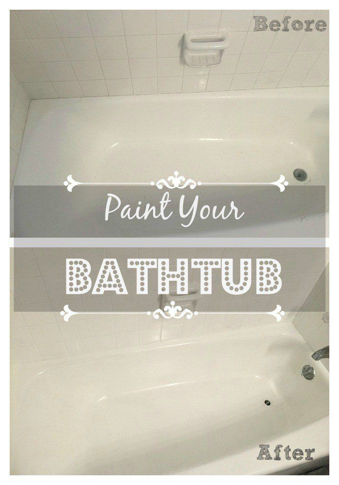 Paint Your Bathtub With Images Painting Bathtub Old Bathtub