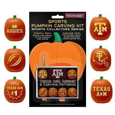 u of m pumpkin templates  Texas A&M Aggies Pumpkin Carving Kit | Pumpkin carving kits ...