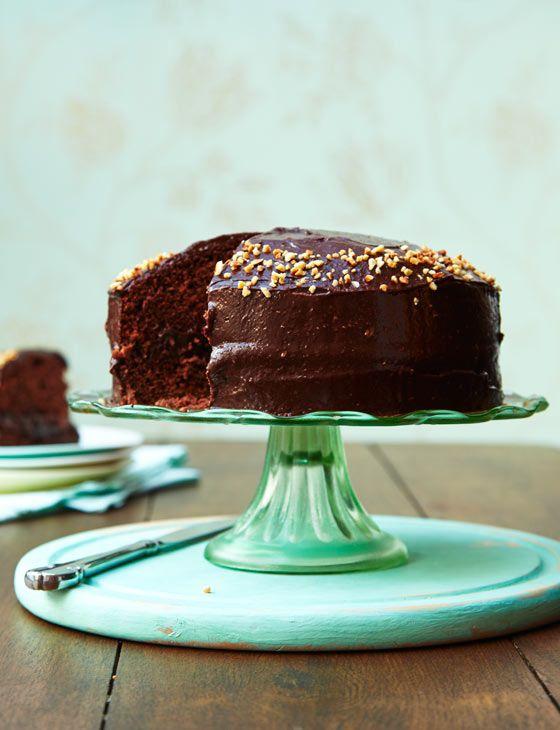 Vegan fudgy chocolate cake Recipe Chocolate cake Vegans and