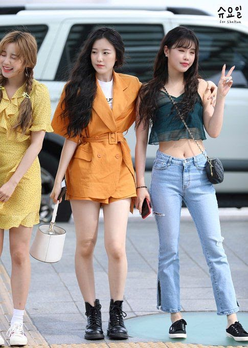 10 Times G I Dle S Shuhua Proved That Even Her Casual Fashion Is Glamorous Koreaboo Fashion Kpop Outfits Kpop Fashion