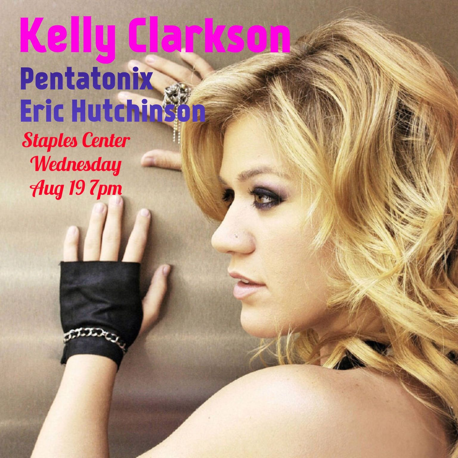 Kelly Clarkson Coming To Staples Center 8 19 15 Tickets On Sale Now Http Www Viptickets Com Viptickets Loose Curls Hairstyles Kelly Clarkson Hair Styles