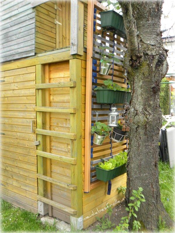 Upcycling Garten ein neues bett im haus wohin aber mit dem alten lattenrost wie