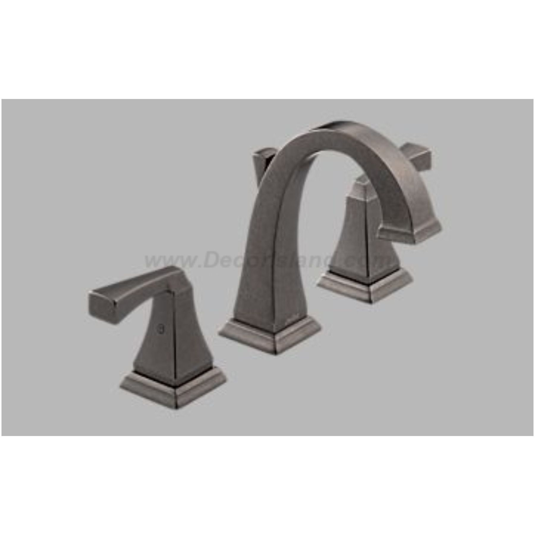 DELTA PT Dryden Two Handle Widespread Lavatory Faucet Aged - How to install a bathroom faucet with pop up drain