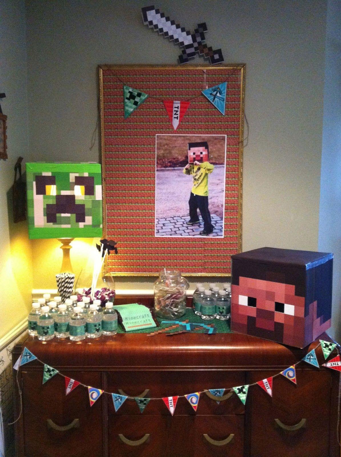 Minecraft Party, Minecraft Birthday