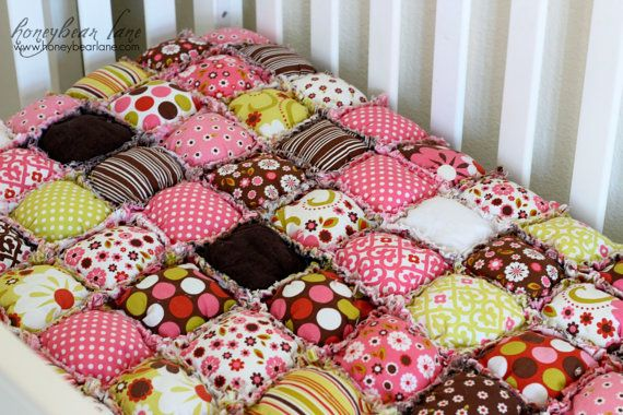 How To Make A Rag Puff Quilt Pattern PDF File Quilts Pinterest Cool Puff Quilt Patterns