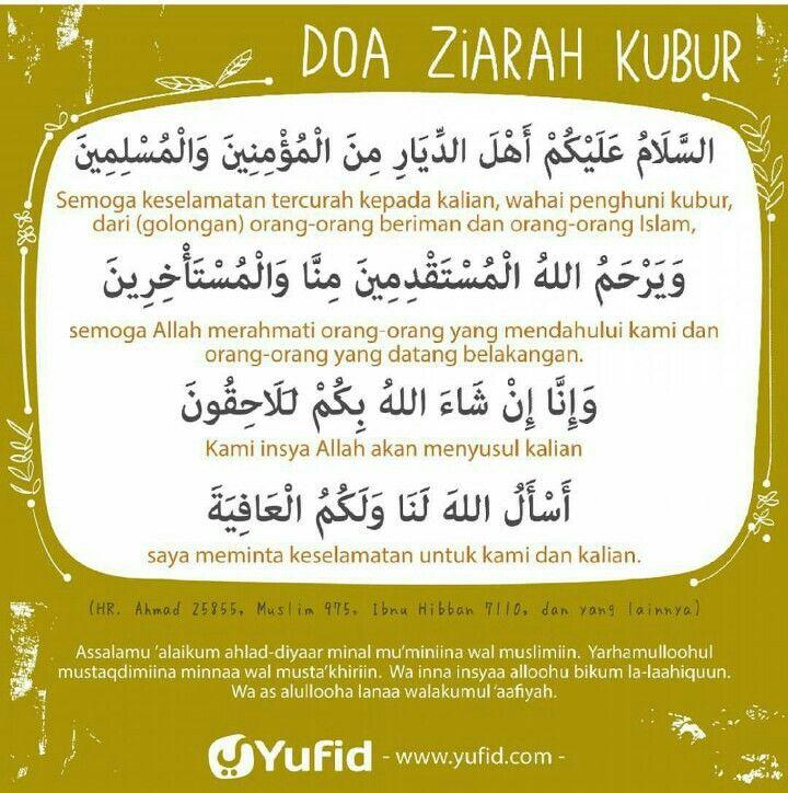 Doa Ziarah Kubur Doa Ziarah Nasihat Yang Baik